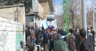 اعتراض کارگران خدمات شهری و پاکبانی شهرداری مریوان