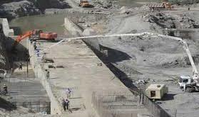 اعتراض کارگران سد ژاوە در سنندج نسبت بە عدم دریافت حقوق خود
