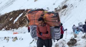 سقوط یک کولبر در ارتفاعات مرزی شهرستان بانە