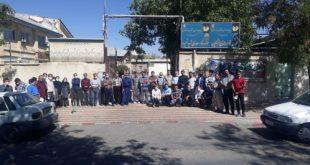 تجمع اعتراضی فرهنگیان در برخی از شهرهای کوردستان